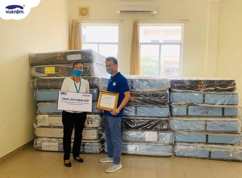 Vua Nệm chung tay chống dịch Covid-19 cùng bệnh viện Nhiệt Đới TP.HCM