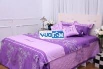 Bộ drap Amando Satin cho phòng ngủ thêm ấm áp