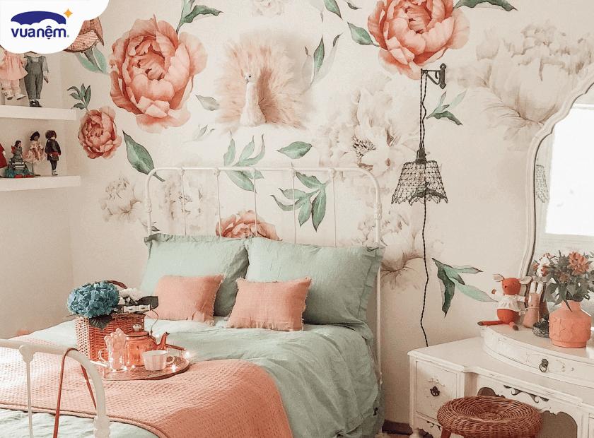 Mẹo decor phòng ngủ vintage đơn giản mà hiệu quả