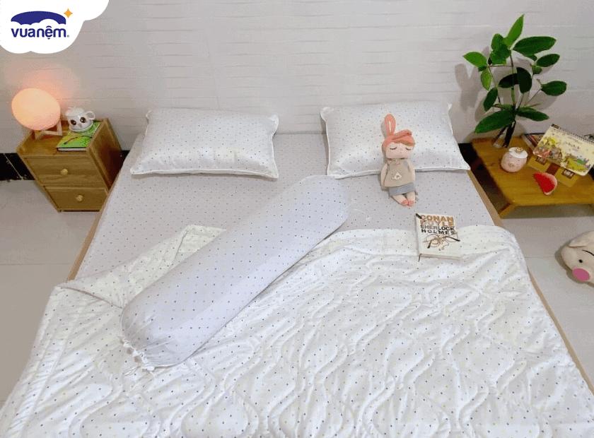 Có nên dùng drap giường thun lạnh?