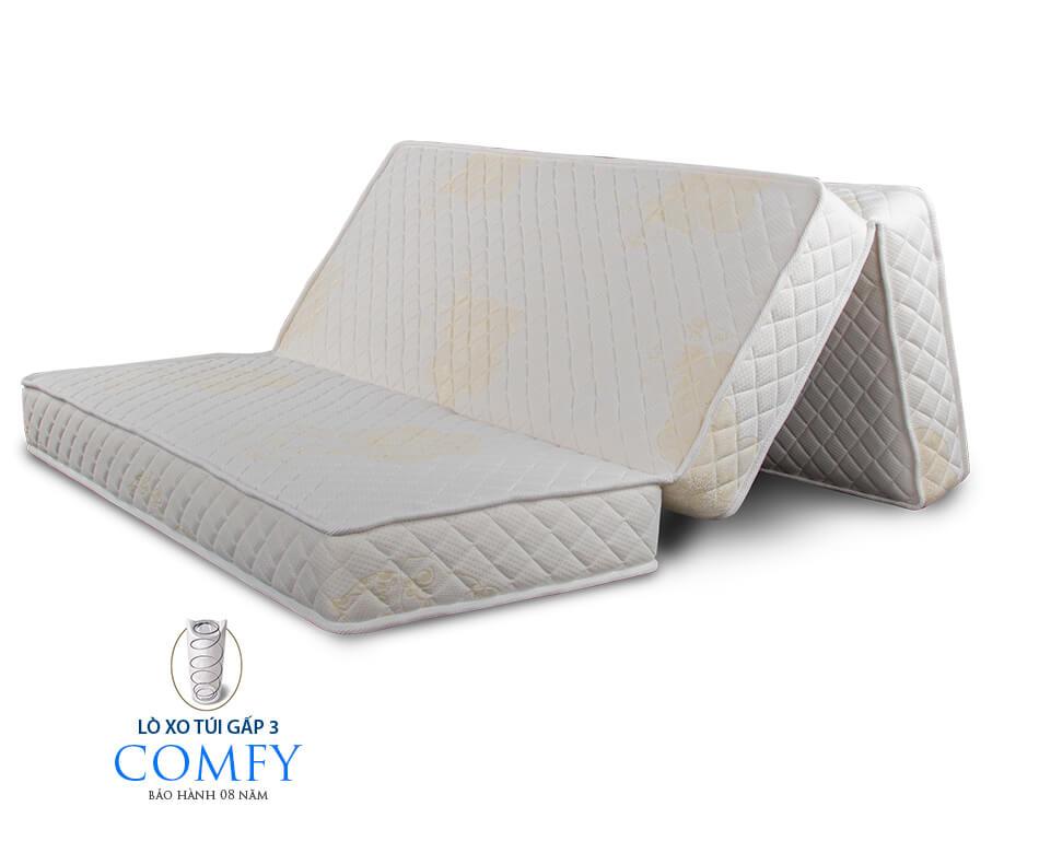 Nệm lò xo Vạn Thành gấp 3 Comfy