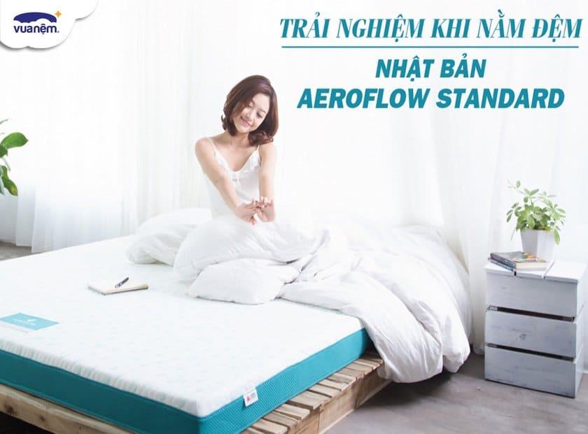 [Góc review] Trải nghiệm khi nằm đệm Nhật Bản Aeroflow Standard