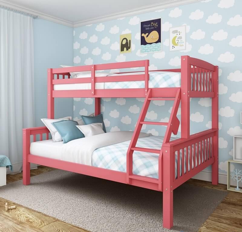 Giường tầng sắt đáng yêu cho trẻ em