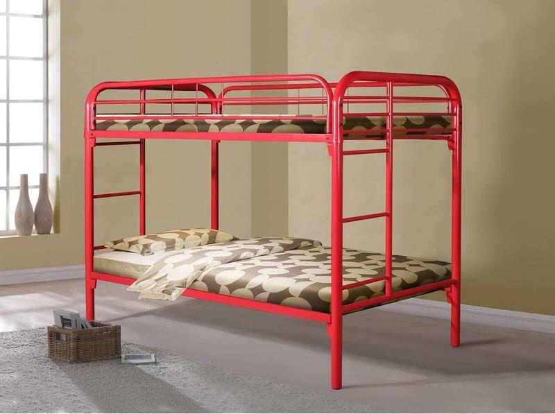 Mẫu giường tầng sắt ống