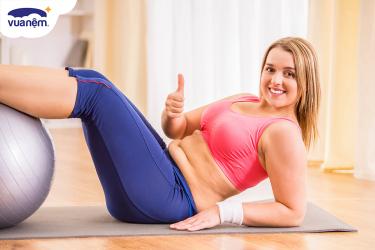 5 Bài tập giảm mỡ bụng tại nhà đơn giản, hiệu quả cao