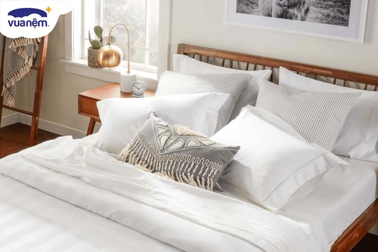 top bộ drap giường 1m2 thông thoáng