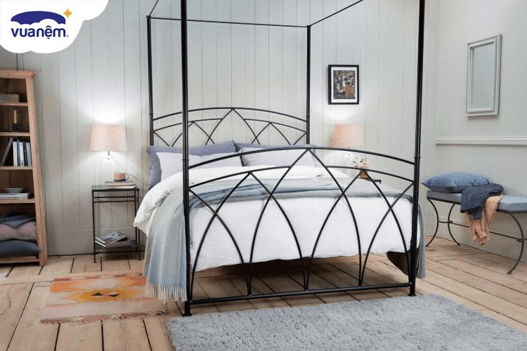 giường sắt 1m2 2m