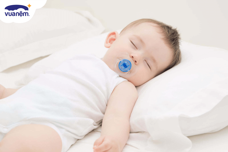 gối cho bé 1 tuổi