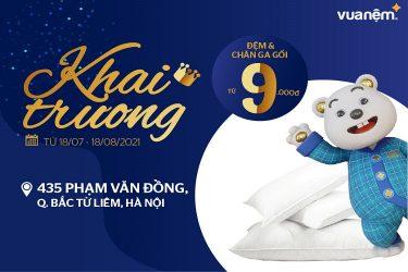 Tưng bừng khai trương cửa hàng Vua Nệm tại quận Bắc Từ Liêm - Hà Nội