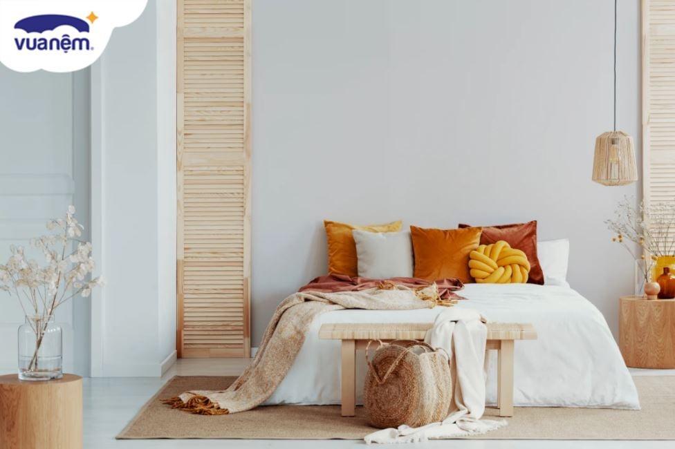 vải may ga giường mát