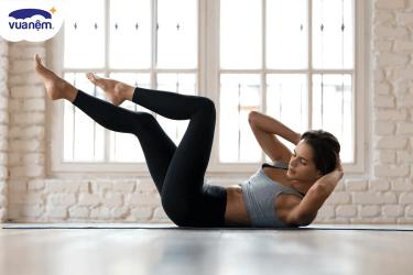 Bài tập thể dục eo thon, dáng đẹp đơn giản ngay tại nhà