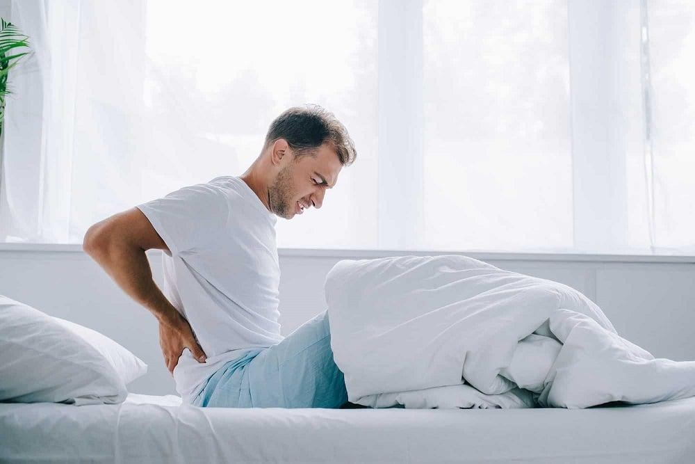 đau lưng khi thức dậy