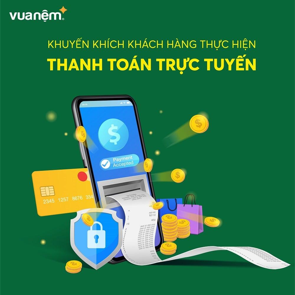 Khuyến khích khách hàng thanh toán trực tuyến