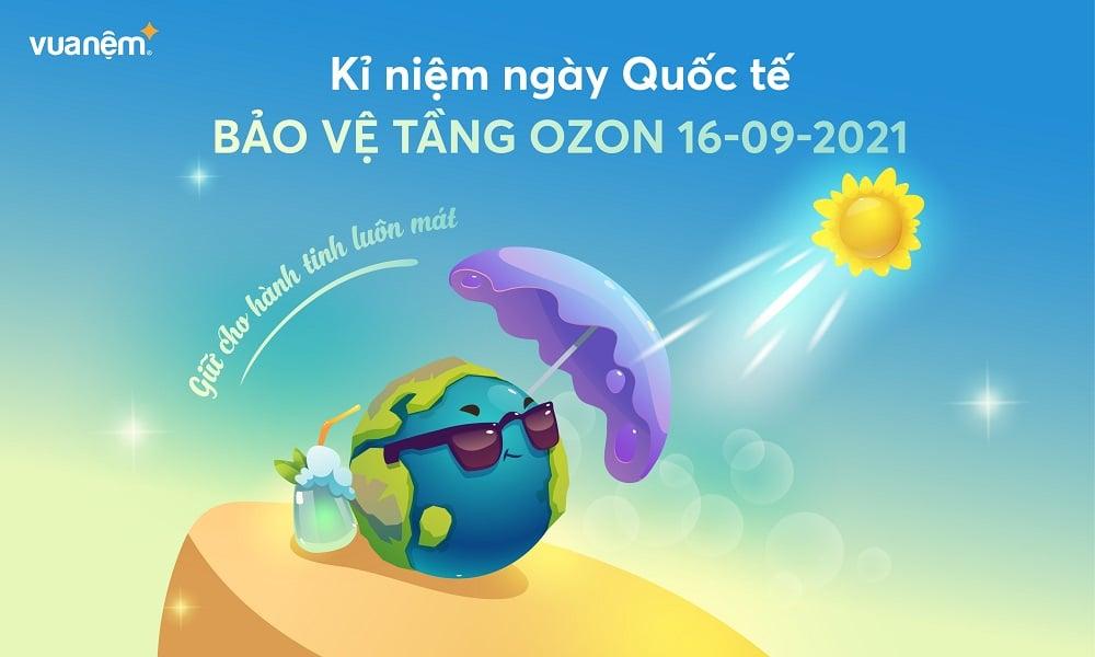 Kỉ niệm ngày Quốc tế Bảo vệ tầng Ozon 16-09-2021