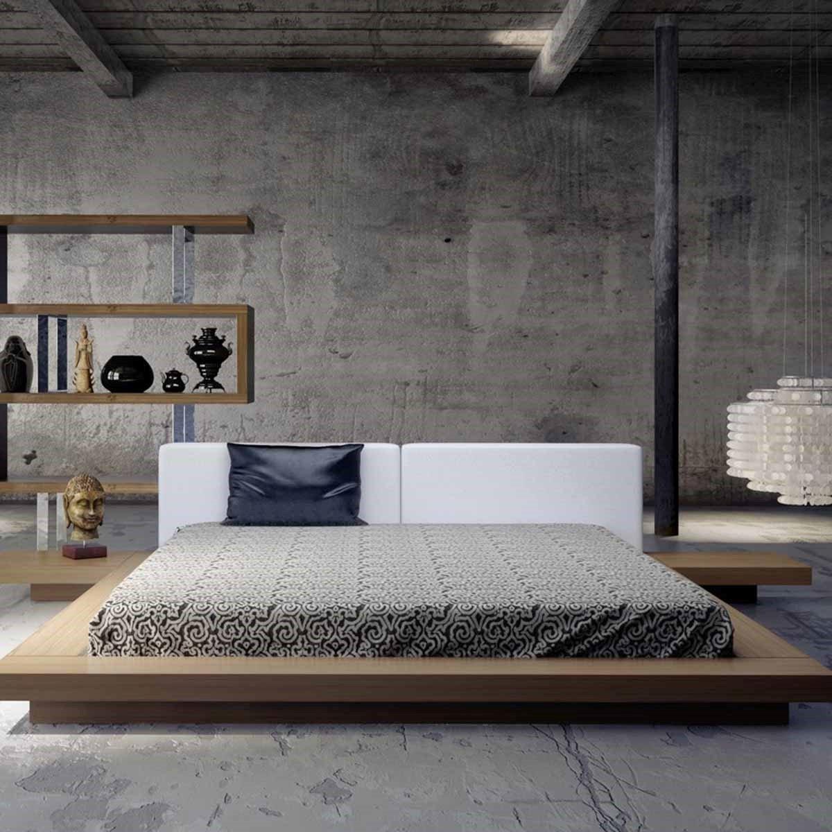 giường gỗ 1m8 2m kiểu nhật
