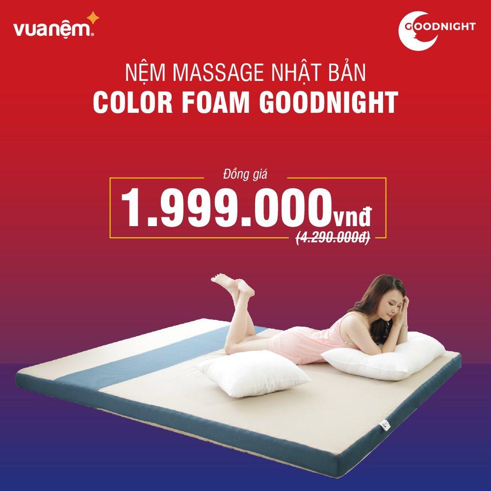 Nhật Bản Goodnight Color Foam