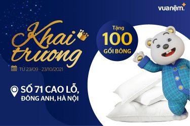 Tưng bừng khai trương cửa hàng Vua Nệm tại Cao Lỗ - Đông Anh - Hà Nội