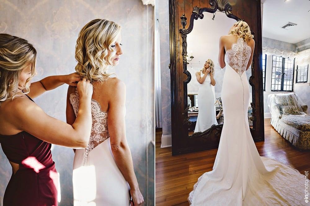 Cô dâu đi thử váy cưới