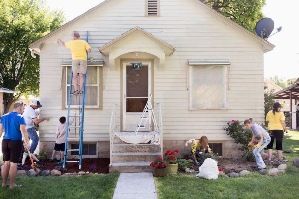 Sửa sang nhà cửa chuẩn bị đám cưới