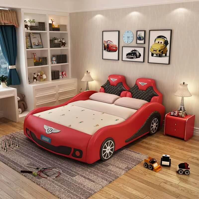 Giường trẻ em GoBy Bentley da màu đỏ – 1160