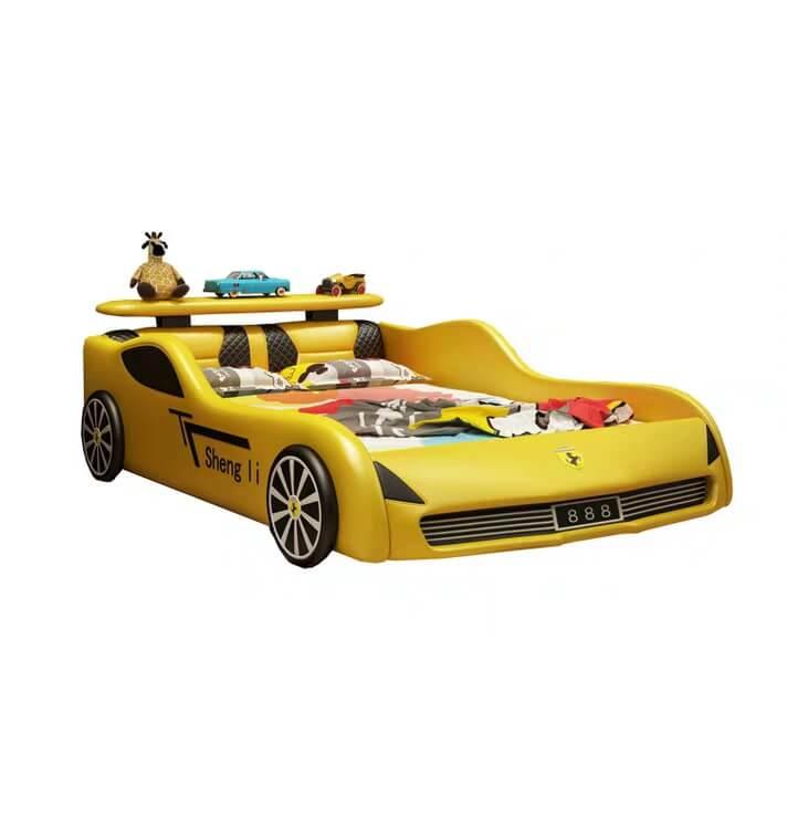 Giường trẻ em GoBy Ferrari da màu vàng – 1161