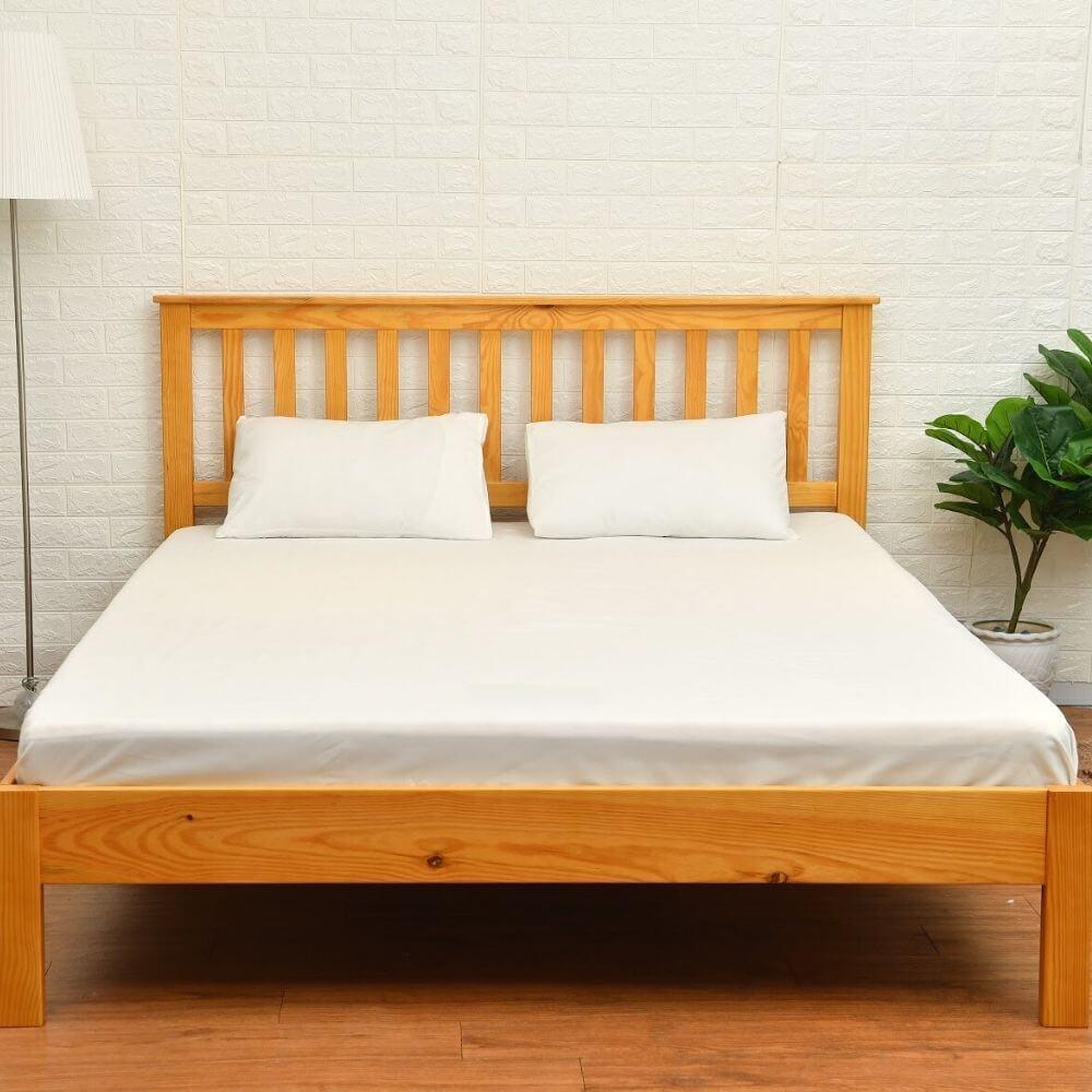Giường gỗ Amando Piny – 1208